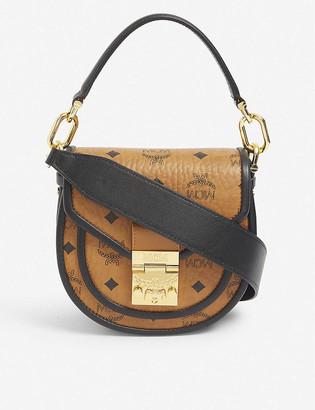 MCM Patricia leather mini shoulder bag