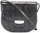 Celine dots print shoulder bag - women - Watersnake Skin - One Size