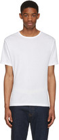 BLK DNM White Classic Fitted Greaser 43 T-shirt