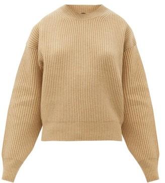 Joseph Ribbed-knit Wool Sweater - Camel