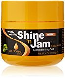 Ampro Extra Hold Shine'N Jam Conditioning Gel, 4 Ounce