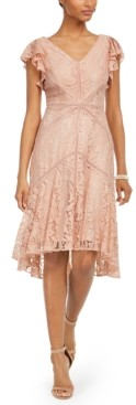 Taylor Petite Lace Midi Dress