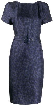Bally Belted Waist Dress