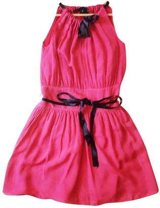 Marc by Marc Jacobs Pink Silk Dresses