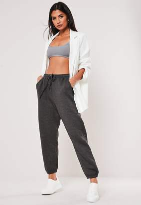 Missguided Petite Grey Oversized 90S Joggers