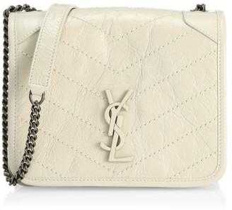 Saint Laurent Niki Leather Crossbody Bag