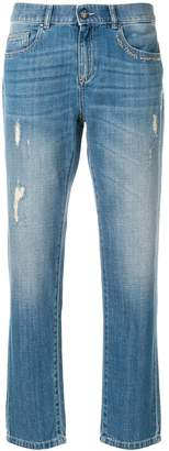Ash high rise tapered jeans