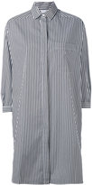 Aspesi striped shirt dress - women - Cotton - L