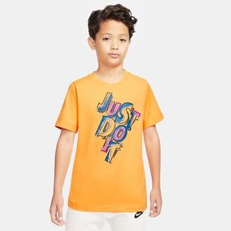 Nike Boys' Sportswear AM90 JDI T-Shirt