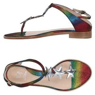 Paula Cademartori Toe post sandal