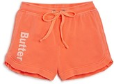 Butter Shoes Girls' Softened Fleece Shorts - Sizes S-XL