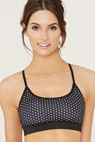 Forever 21 Low Impact - Dotted Sports Bra