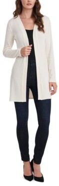 Vince Camuto Rib-Knit Open-Front Cardigan