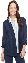 Splendid 3/4 Sleeve Light Jersey Cardigan