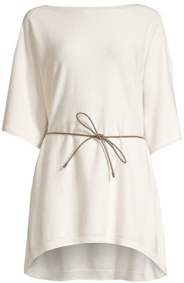 Peserico Wool-Blend Belted Tunic