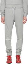 Pyer Moss Grey Tattered Lounge Pants