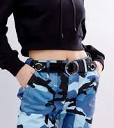 Reclaimed Vintage Inspired Ring Buckle Leather Belt