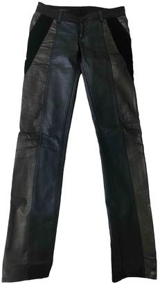 Gucci Metallic Cotton Jeans