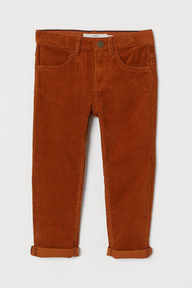 H&M Slim Fit Corduroy trousers