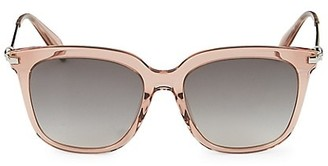 Alexander McQueen 55MM Square Sunglasses