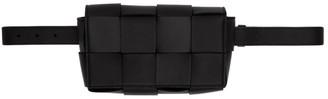Bottega Veneta Black The Belt Cassette Pouch