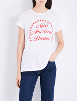 Wildfox Couture Miss American Dream cotton-jersey T-shirt