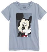 Little Eleven Paris Toddler Boy's Little Elevenparis Mickey Mouse Moustache T-Shirt
