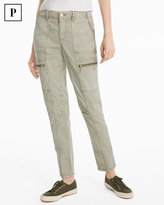 White House Black Market Petite Utility Slim Pants