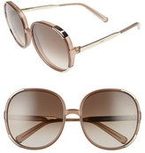Chloé Women's Myrte 61Mm Sunglasses - Caramel