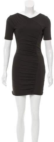 Jasmine Di Milo Cutout Long Sleeve Dress