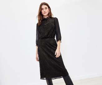 Oasis Lace Midi Dress