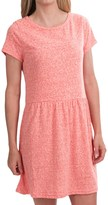 Specially made Heathered Knit Dress - Short Sleeve (For Women)