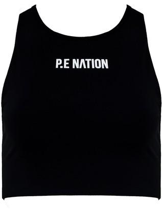 P.E Nation Racing Line Sports Bra