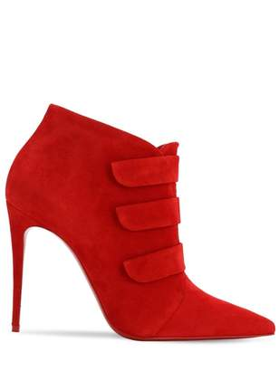 Christian Louboutin \N Red Suede Ankle boots