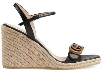 Gucci Aitana Wedge Sandals