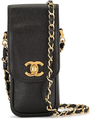 Chanel Pre Owned CC Chain Shoulder Bag Pochette