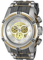 Invicta Men's 'Bolt' Swiss Quartz Stainless Steel Casual Watch (Model: 19727)