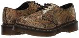 Dr. Martens 1461 Iridescent Crackle (Gold) Women's Shoes