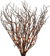 One Kings Lane S/2 40-Light Coral, Gold