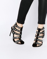 Asos EMOGEN Caged Shoe Boots