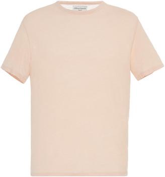 Officine Generale Linen Crewneck T-Shirt