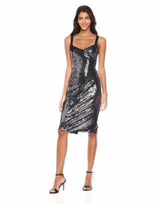 Parker Women's Beau Asymmetric Embellished Midi Dress