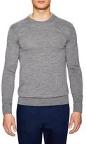 Hardy Amies Crew Knit Wool Sweater