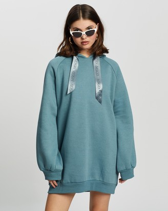 Missguided Oversized Hoodie Dress