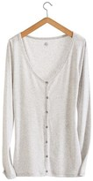Petit Bateau Womens light cotton cardigan