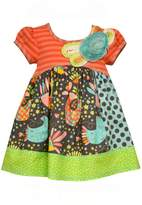Bonnie Jean short sleeve poplin dress