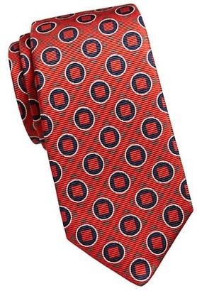 Kiton Geometric Square Silk Tie