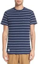 NATIVE YOUTH 'Xenon' Stripe Knit Pocket T-Shirt