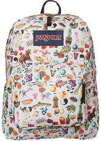JanSport New Women's Superbreak 25L Backpack Polyester Stickers N/A