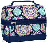 PBteen Gear-Up Navy Tile Medallion Retro Lunch Bag